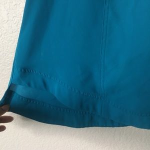 Lane Bryant Tops - Lane Bryant Semi Sheer Blue Short Sleeve Top 14/16
